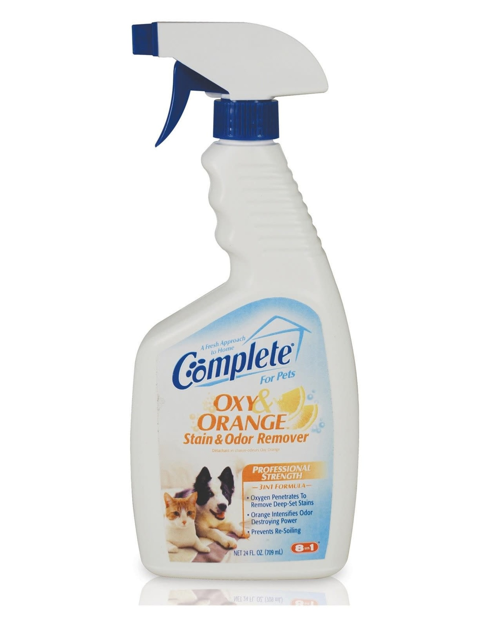 8in1 Complete Oxy Orange Stain & Odor Remover 24 oz