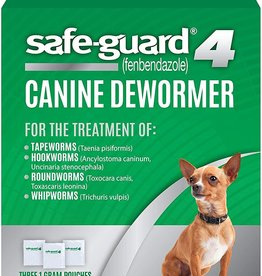Eight in One Eight-in-One Dog Safe-Guard 4 in 1 Wormer 1 gm Round/Hook/Whip/Tape Worms