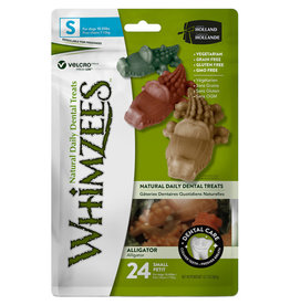 WHIMZEE Whimzees Small Gator Dental Chew 17ct