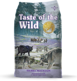 Taste Of The Wild Taste of the Wild Sierra Mountain Canine with Roasted Lamb 14 lb