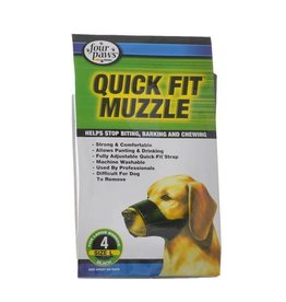 Four Paws Four Paws Quick Fit Muzzle Size 4