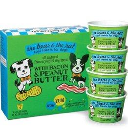 The Bear & The Rat The Bear & The Rat Dog Treat, Frozen Yogurt, Bacon & Peanut Butter 4 Pack 3.5 oz