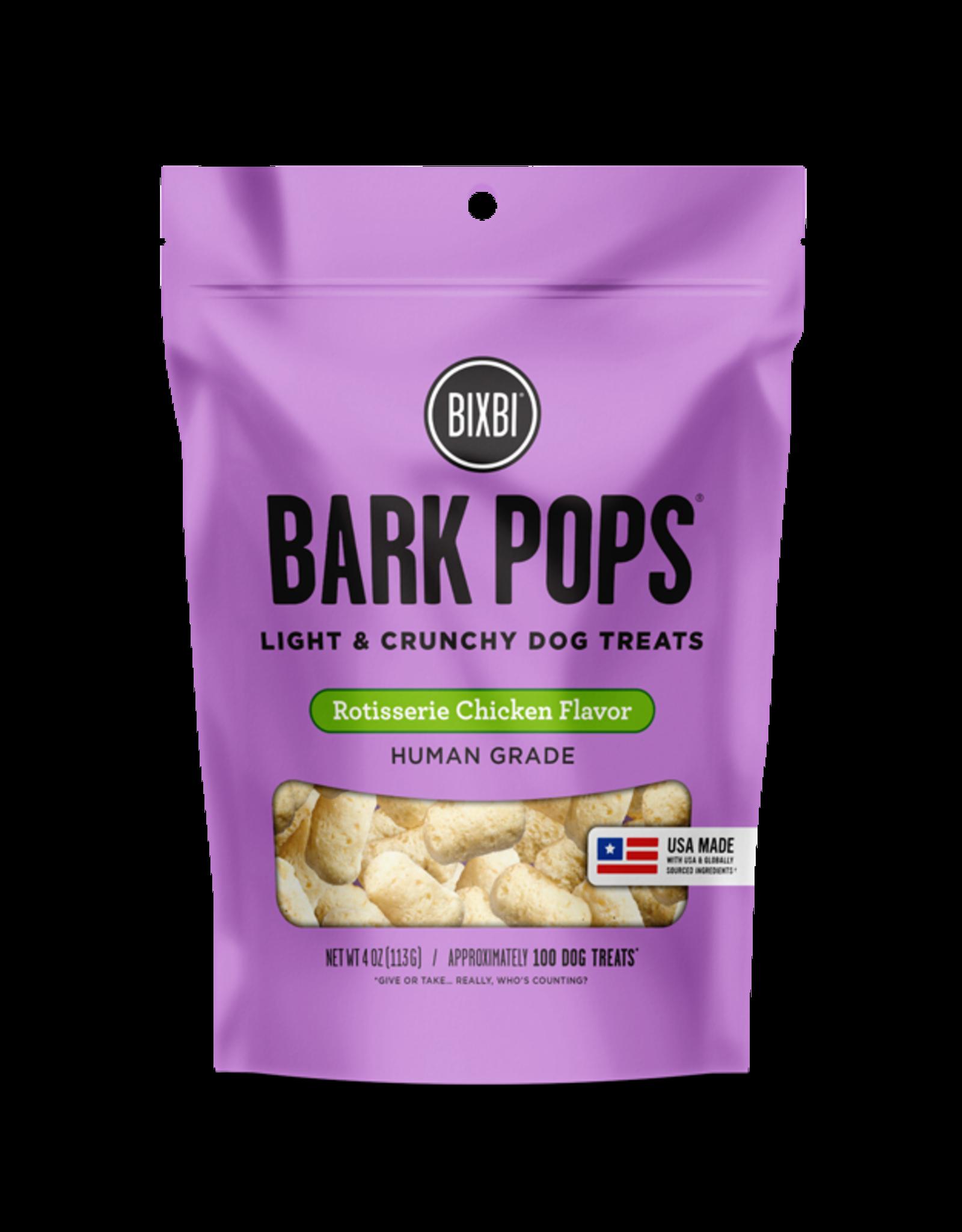 Bixbi Bixbi Dog Treat Bark Pops Rotisserie Chicken 4 oz