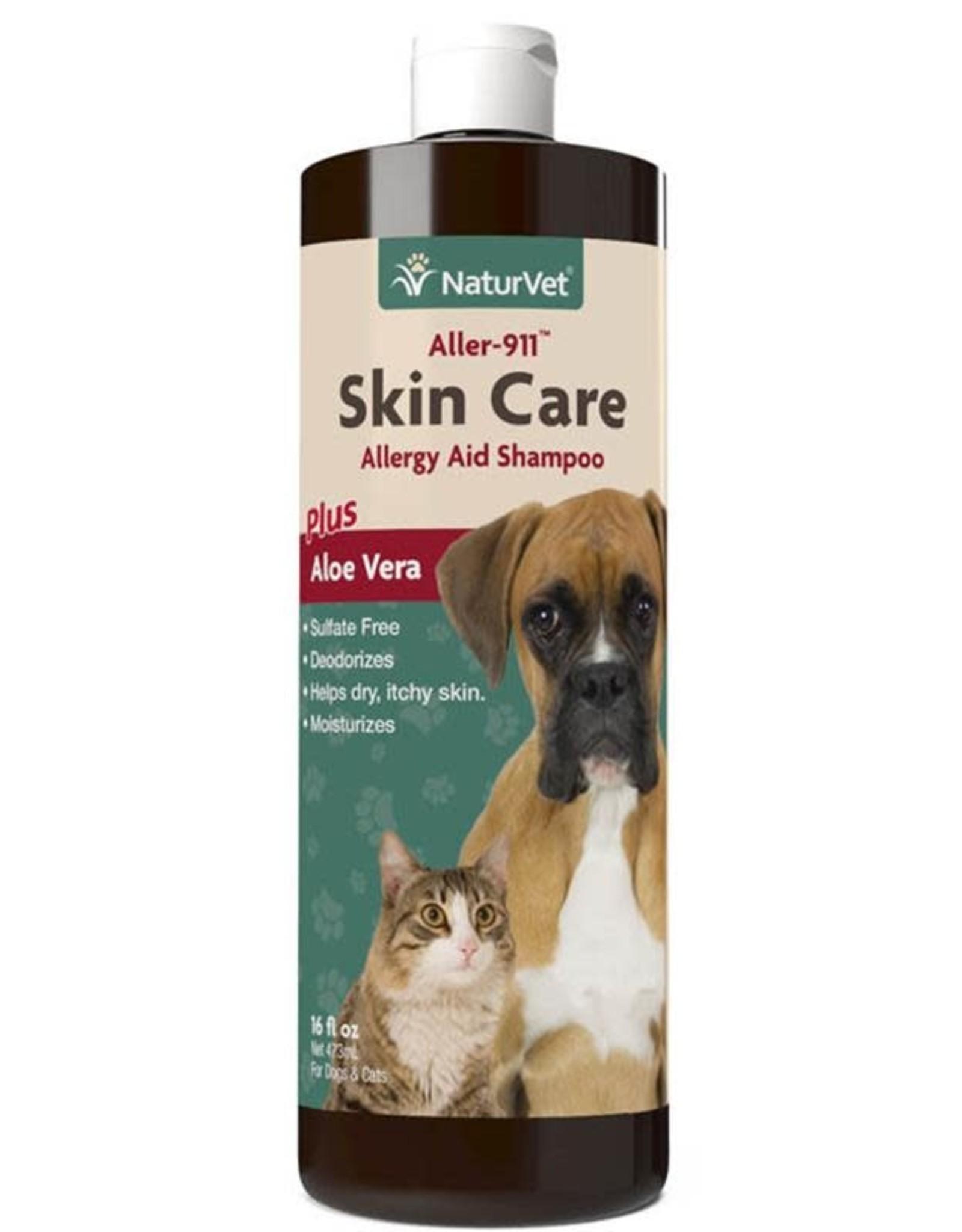 NaturVet Naturvet Aller-911 Skin Care Shampoo 16 oz