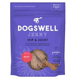 Dogswell Dogswell Hip & Joint Grain Free Beef Jerky 10 oz