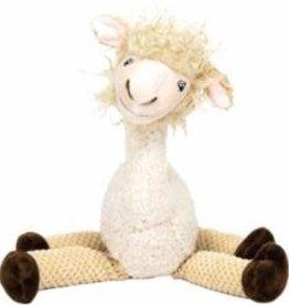 FabDog Fabdog Floppy Llama Plush Dog Toy Large