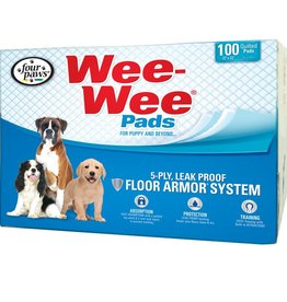 """Four Paws Four Paws Wee Wee Pads 100 Count Bulk Pack 22"""" x 23"""""""