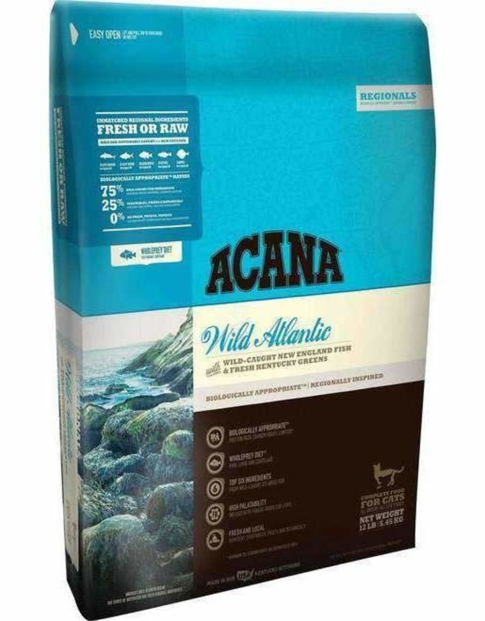 Acana Acana Wild Atlantic Dry Cat Food 12 lb