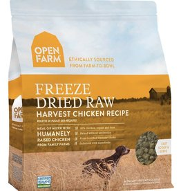 Open Farm Open Farm Harvest Chicken Recipe Freeze Dried Raw Dog Food 13.5 oz