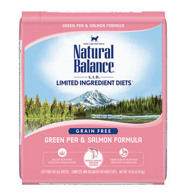 Natural Balance Natural Balance Limited Ingredient Diets Green Pea & Salmon Dry Cat Food 10 lb