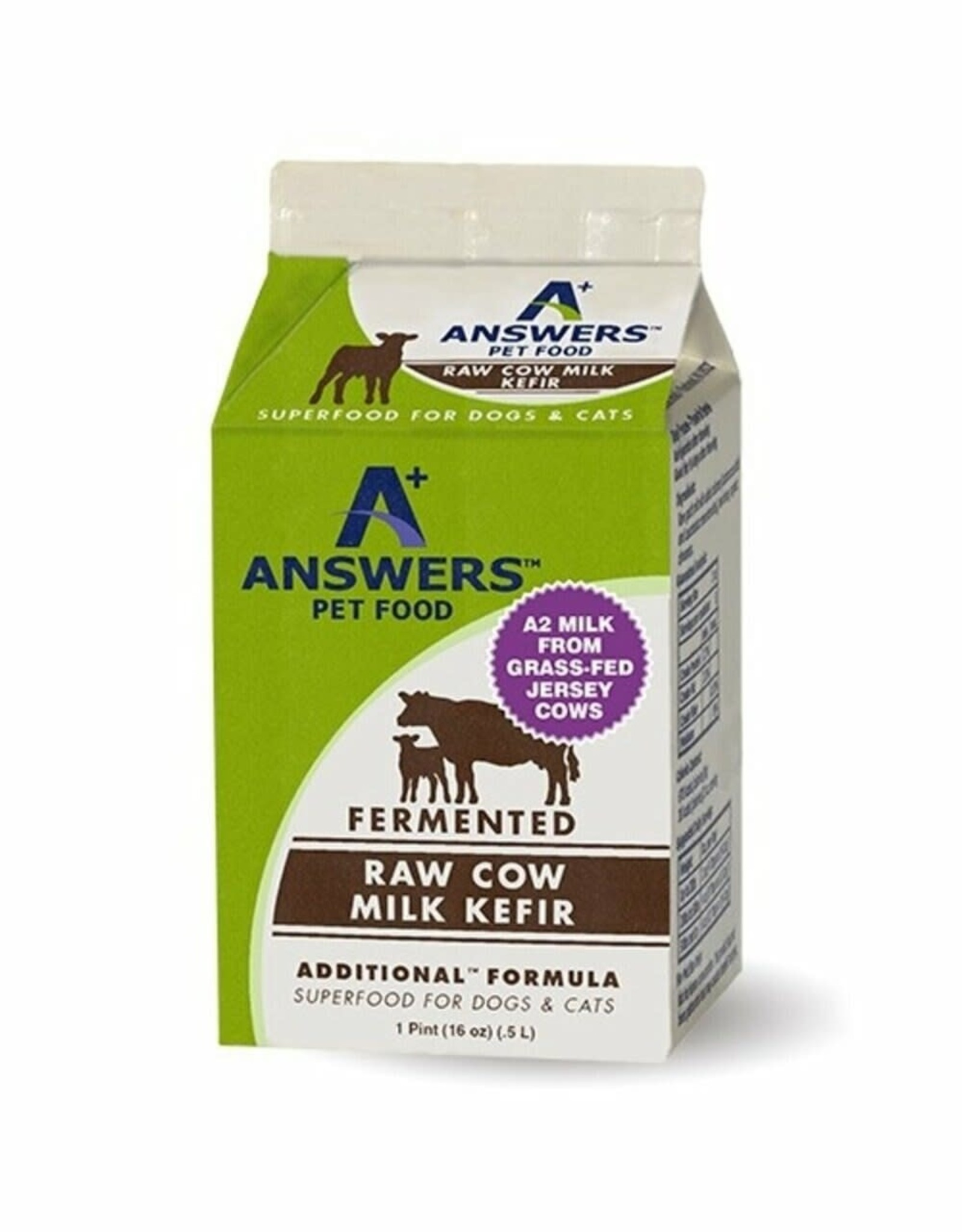 Answers Answers Dog Cat Frozen Additional Cow Kefiir Milk 1 Pint