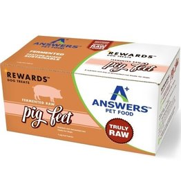 Answers Answers Rewards Frozen Raw Fermented 4 Pig Feet Chews