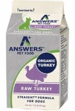 Answers Answers Dog Frozen Straight Turkey 1 lb