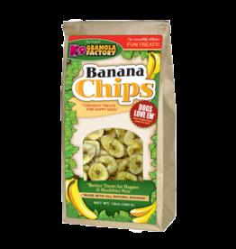 K9 Granola Factory K9 Granola Factory Banana Chips Dog Treats 12 oz