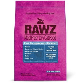 Rawz Rawz Salmon Chicken & Whitefish Dry Cat Food 3.5 lb