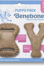 Benebone Benebone Puppy 2 Pack - Bacon