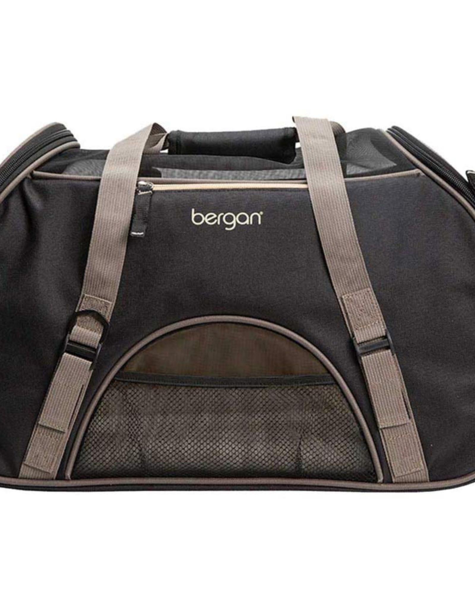 Bergan Bergan Pet Comfort Carrier Small Black/Brown