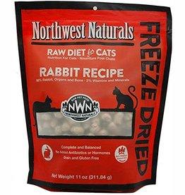 Northwest Naturals Northwest Naturals Nibbles Rabbit Formula Freeze-Dried Raw Cat Food 11 oz