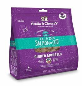 Stella & Chewy's Stella & Chewy's Freeze Dried Sea-Licious Salmon & Cod Dinner Cat 3.5 oz