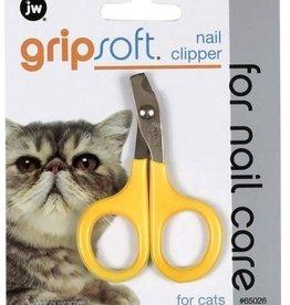 Petmate JW Pet Company GripSoft Cat Nail Clipper