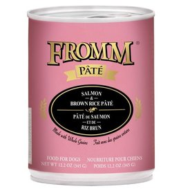 Fromm Fromm Salmon & Rice Pate Dog 12 oz
