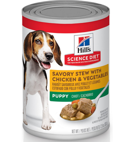 Hill's Science Pet Hill's® Science Diet® Puppy Savory Stew with Chicken & Vegetables 12 x 12.8 oz cans