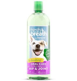 TropiClean Tropiclean Fresh Breath Water Additive Plus Hip & Joint 33.8 oz.