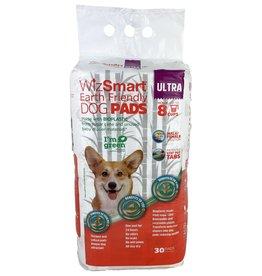 WizSmart WizSmart Earth Friendly Ultra Dog Pad, 30-Count