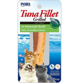 Inaba Inaba Tuna Fillet grilled Cat Treat in homestyle broth (0.52oz)