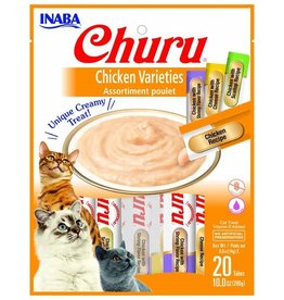 Inaba Churu Chicken Variety Bag 20 Tubes