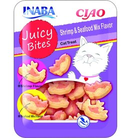 Inaba Juicy Bites Shrimp and Seafood Flavor 1.2oz