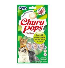 Inaba Churu Pop Cat Treat Tuna with Chicken Recipe 2.16 oz