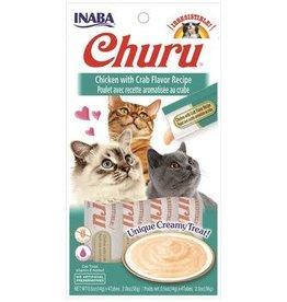 Inaba Churu Chicken with Crab Flavor Recipe