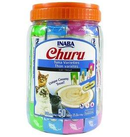 Inaba Inaba Churu 50 Tubes Tuna Variety