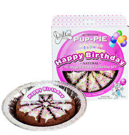 The Lazy Dog The Lazy Dog Cookie Co. Happy Birthday Darling Girl Pup Pie