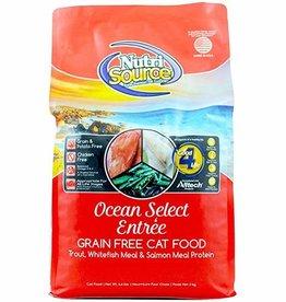 Nutrisource Nutri Source Grain Free Ocean Select Entree Cat Food 2.2 lb