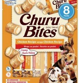 Inaba Inaba Churu Bites Dog Treat Chicken Recipe wraps Chicken Recipe 8 count