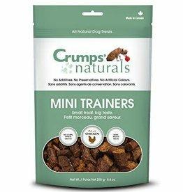 Crump Naturals Crumps Naturals Mini Trainers Chicken Semi Moist 4.2 oz