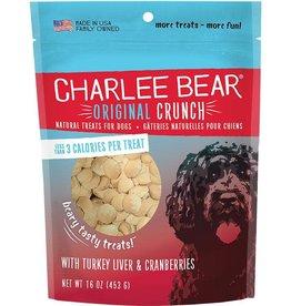 Charlee Bear Charlee Bear Dog Turkey Liver & Cranberry Treat 16 oz