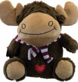 Hero Hero Chuckles Holiday Moose Dog Toy, Medium