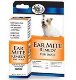 Four Paws Four Paws Dog Ear Mite Remedy 0.75 oz