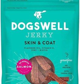 Dogswell Dogswell Skin & Coat Grain Free Salmon Jerky 10z