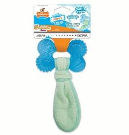 Nylabone Nylabone Puppy Chew Freezer Bone With Washcloth