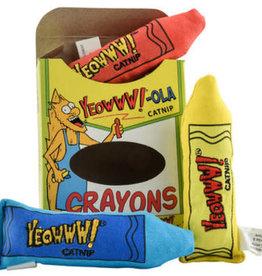 Yeowww YEOWWWW! CAT CATNIP CRAYON 3 PACK