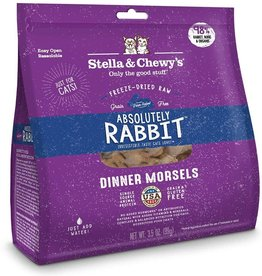 Stella & Chewy's STELLA & CHEWY'S CAT FREEZE-DRIED RABBIT DINNER 3.5 OZ