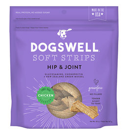 Dogswell Dogswell Hip & Joint Grain Free Chicken Soft Strips 20 oz