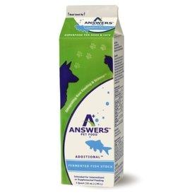 Answers Answers Dog Cat Frozen Additional Fish  Stock 1QT