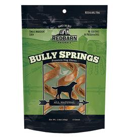 Red Barn Redbarn Naturals Bully Springs Rawhide Dog Treat 3 pack