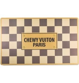 Haute Diggity Checker Chewy Vuiton Placemat