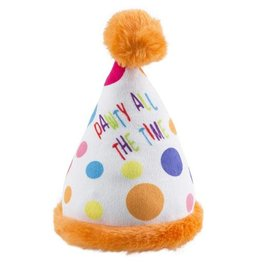 Haute Diggity Happy Birthday Party Hat Toy